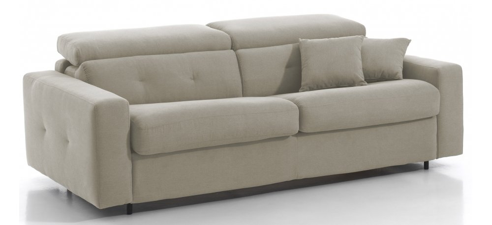 Canapé convertible 3 places MIAMI - Largeur 196 cm - Couchage 140 cm