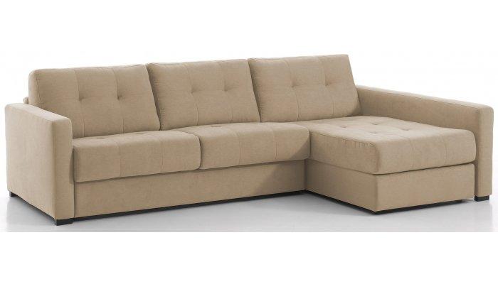 RENNES - Largeur 288 cm - Canapé d'angle convertible Couchage 160 cm