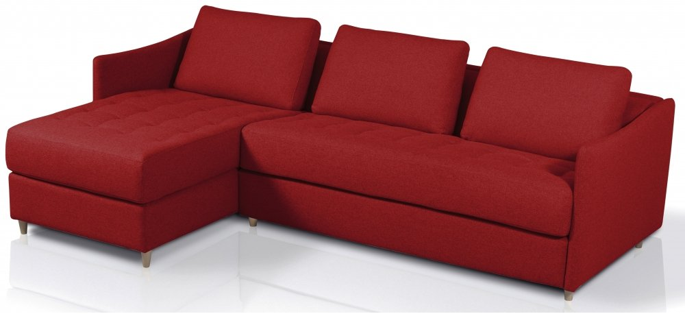 Canap lit d 39 angle m ridienne rapido couchage - Canape d angle convertible couchage quotidien ...