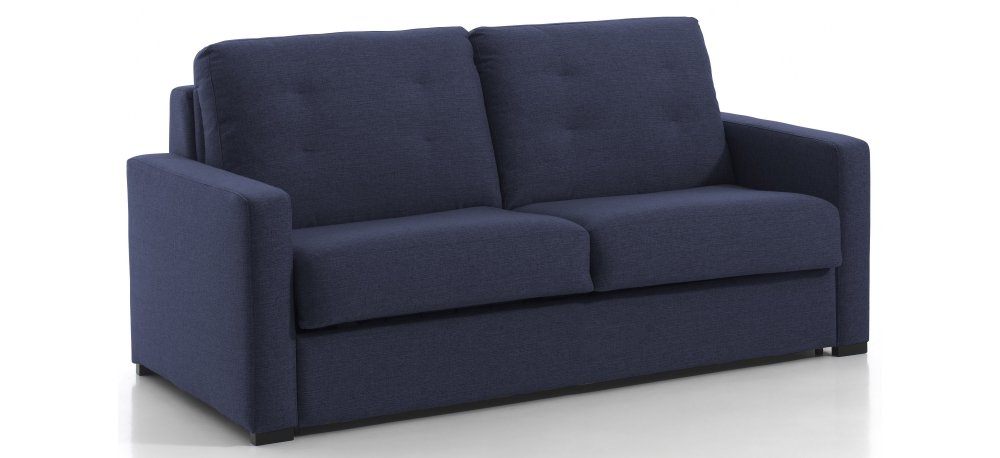 Canapé convertible 2 places NAPOLI - Largeur 168 cm - Couchage 120 cm