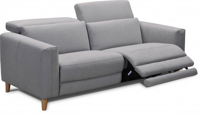 Canapé 3 places relax électrique MONTANA - Largeur 206cm