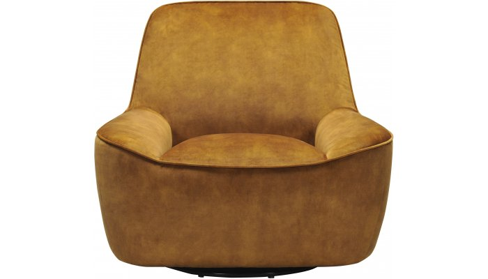fauteuil cabriolet une place pivotant au look vintage. Black Bedroom Furniture Sets. Home Design Ideas