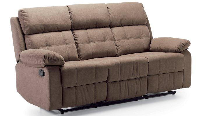Canapé relax électrique 3 places DAX - Largeur 193 cm