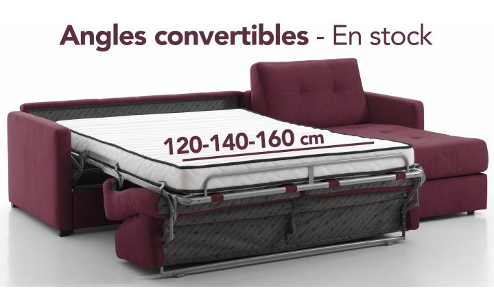 Angles convertibles - en stock