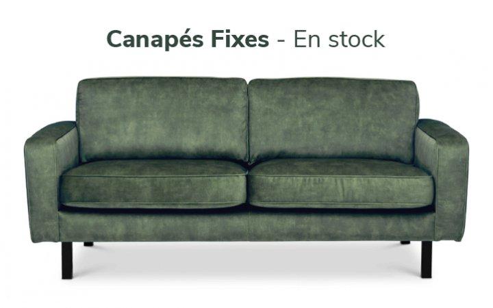 Canapés Fixes - en stock