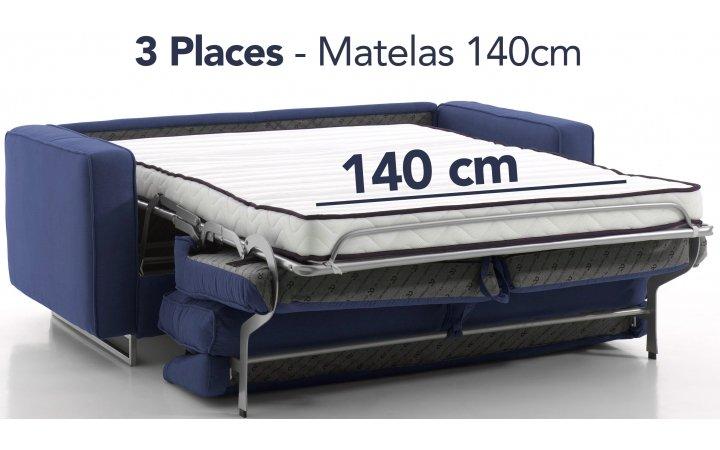 Couchage 140 cm - en stock