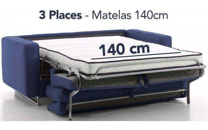 Convertibles 3 places - 140 cm